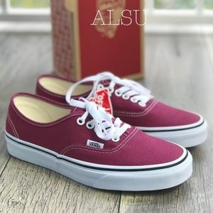 NWT VANS AUTHENTIC Dry Rose True White W AUTHENT
